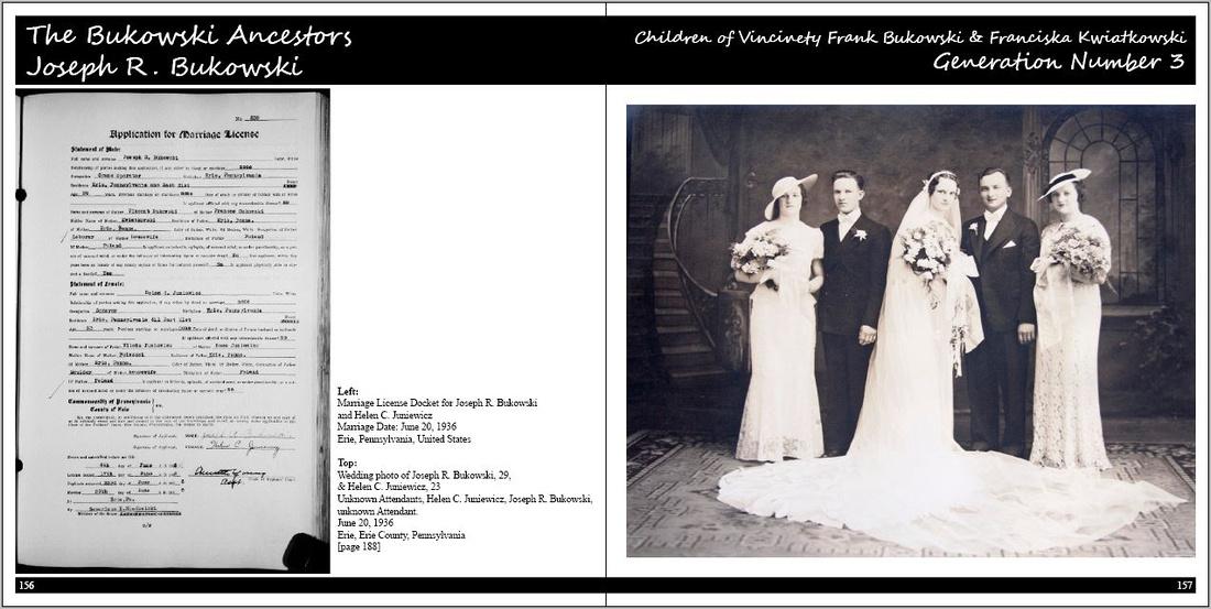 Our Ancestors The Book: Volume 2: The  Bukowski Family