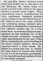The_Clarion_Democrat_Thu__Nov_13__1890_Selker-Guth Bridal Tour