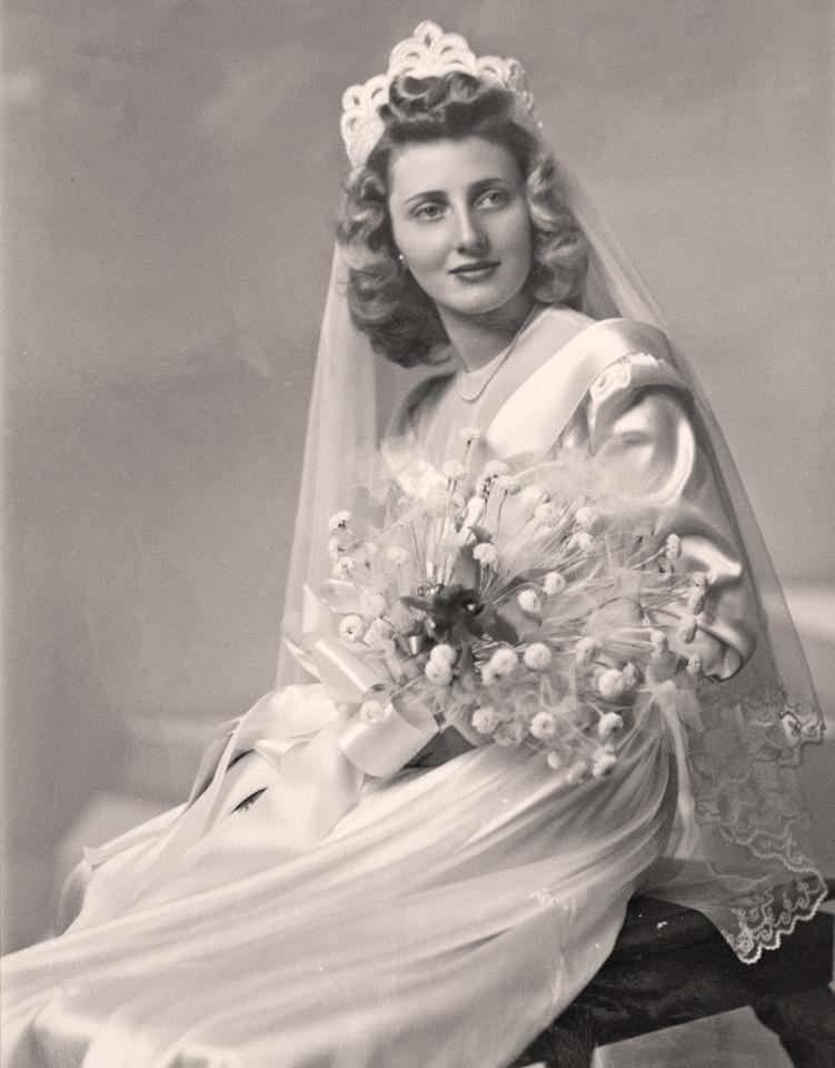 Walter E. Niemi & Rita Ann Murosky Wedding
