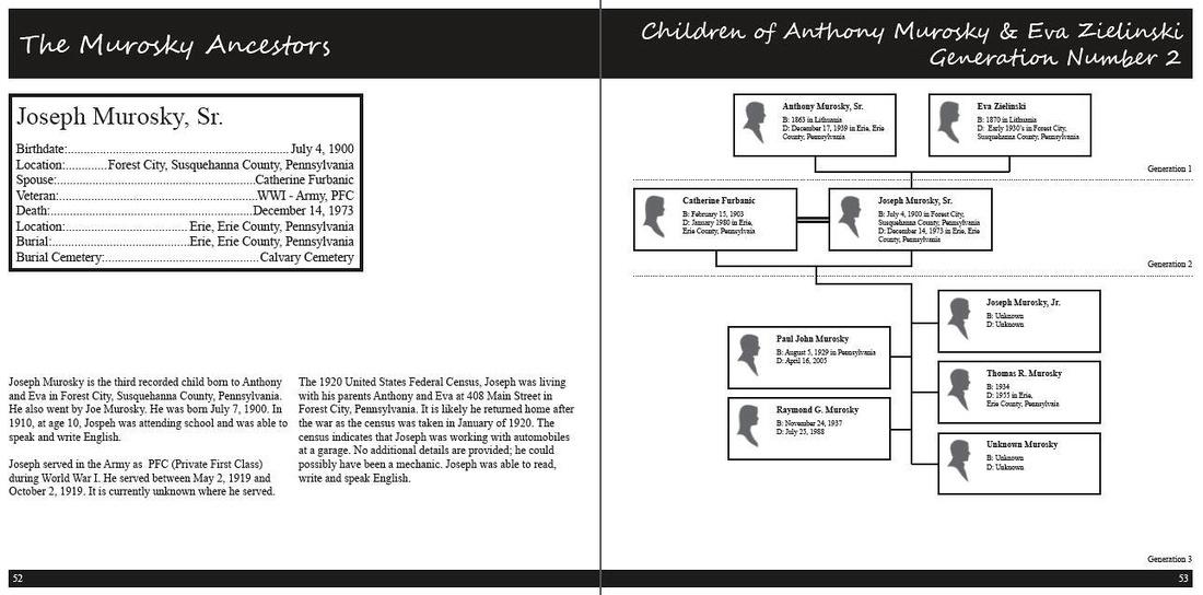 Our Ancestors The Book: Volume I: The Murosky & Bukowski Family