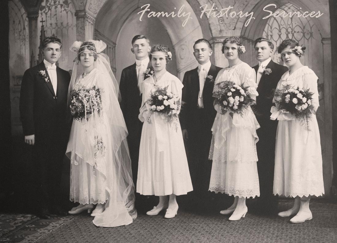 Helen Tillie Bukowski & Anthony Harry Murosky Jr. Wedding Photo