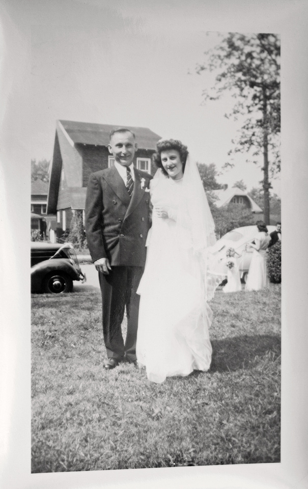 Wedding of Edward V. Murosky & Margaret Forgash