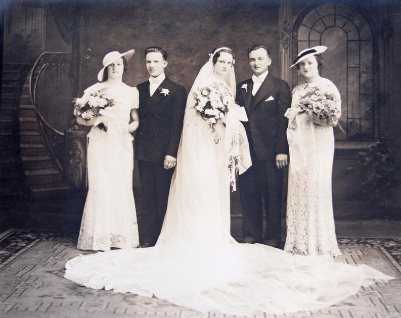 Wedding of Joseph R. Bukowski & Helen C. Juniewicz