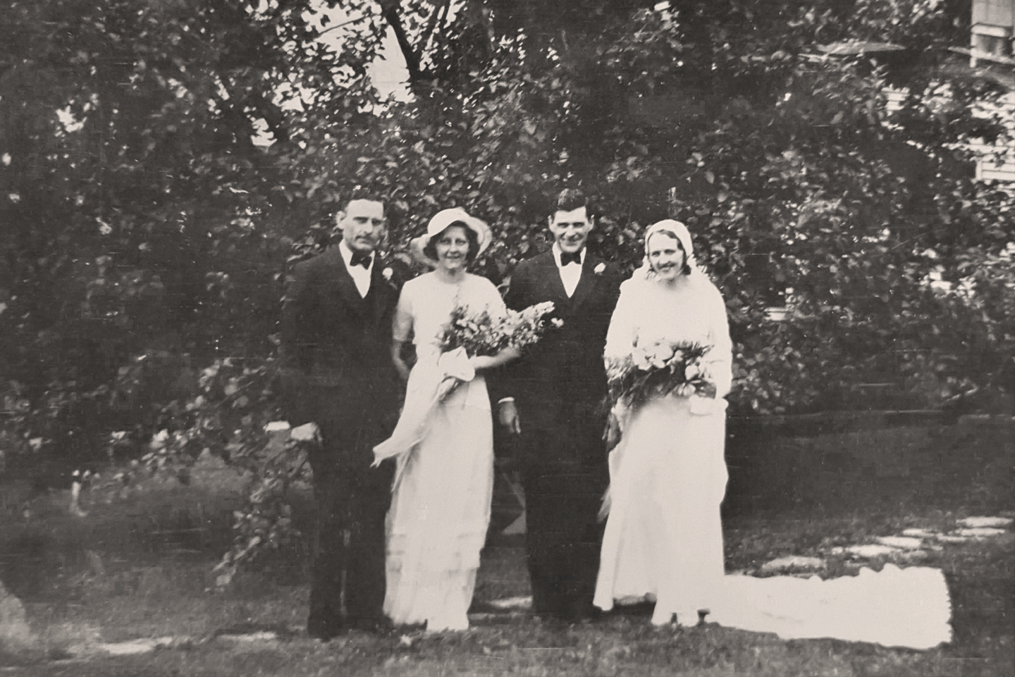 MB Boutiques: The Selker Collection &emdash; 1933 - Wedding of Frederick William Selker & Eleanor E. Herman