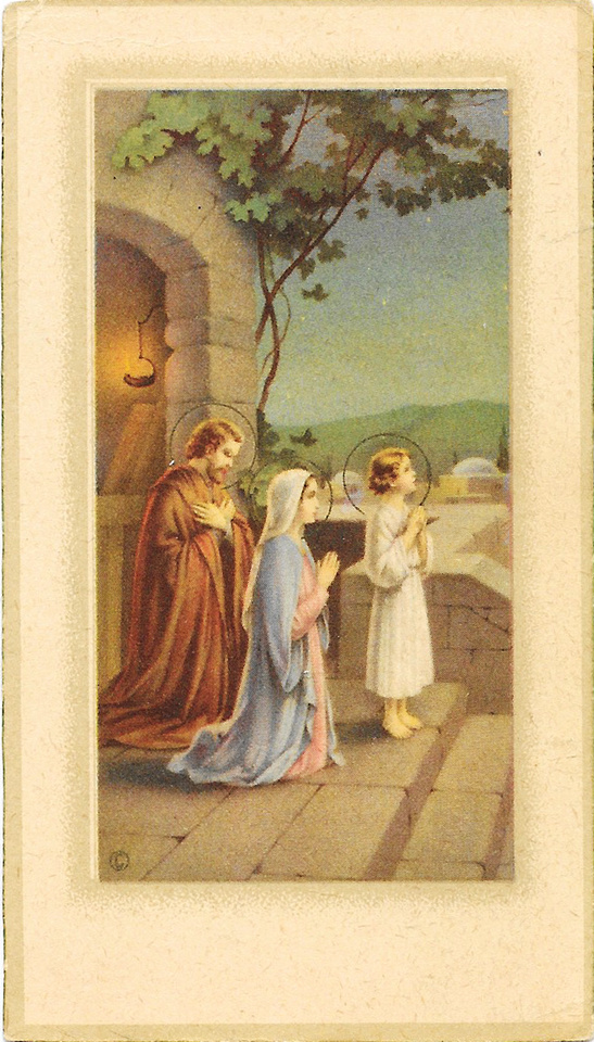 MB Boutiques: The O'Neill Collection &emdash; Gertrude A. McDonald - Prayer Card Front